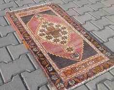 ANATOLIAN Rug, handmade Rug. area rug,tribal rug,wool rug,small carpet,rug for gift,rug