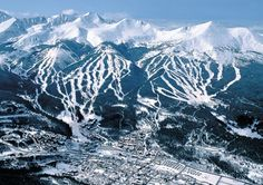 My favorite ski destination :)  Wish we could go this year.  Maybe next year! I miss you Breckenridge!