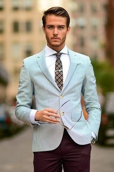 Men\'s style inspiration - suits - ties - pocket squares