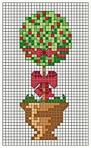 topiary tree pattern