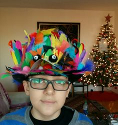 crazy hat craft ideas hat day school bonnet me made 4169