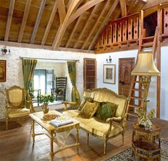 Medieval living room Floor lounging Country homes for sale Rustic living
