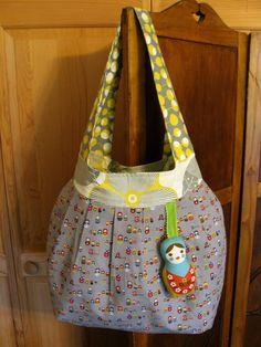 It's a Doll Eat Doll World Matryoshka Shoulder Bag - Amy Butler Birdie Sling