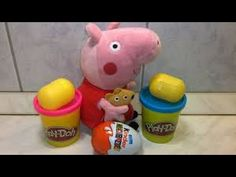 Play doh Kinder surprise  Play doh surprise eggs Play doh ice cream toys
