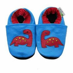 Convenient for you and comfortable for your baby, these adorable slip on shoes are constructed of top grade quality leather. Non-slip leather soles help ensure your baby's safety as they get up and start to explorer.