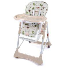 Krzesełko do karmienia Moolino ACE 1011-11 Beżowe - MIŚ :: Sklep Dwunastka