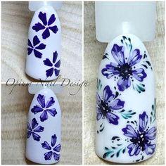 #Repost @opium.nail.design ・・・ Мк по цветочкам
