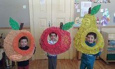 Alimentação- moldura de frutas