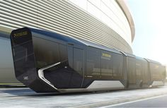 Russia's New Tram Looks Like The Future
