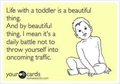 If you have a friend or family member with a toddler (especially a threenager) be extra nice to them. They could very well be on the verge of a melt down. They have, pint size, little shit stirre…