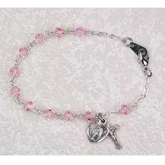 Catholic Girl's First Communion Rosary Bracelet - Elegant... https://www.amazon.com/dp/B00JJXTFRS/ref=cm_sw_r_pi_dp_x_515dybSTQK029