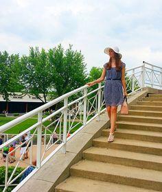 Racetrack Style at Arlington park