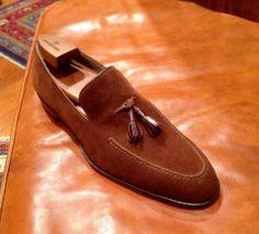 Mannina Firenze Shoemarker - Calzature di Alta Classe - Suede Loafer