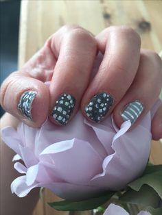 #metallicberryjn #gray&silverstripejn
