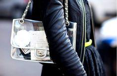 #Chanel www.amodadacasa.com.br/blog/transparencias-nos-acessorios/