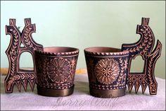 Liptov - Slovakia, wood - Maple, brass band. Hand made by MATEJ HALAHIJA - MH - my Grandfather Brass Band, Wood Carving, Folk, Mugs, Tableware, Handmade, Wood Carvings, Dinnerware, Hand Made