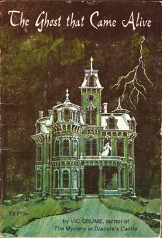 """""""The Ghost That Came Alive"""" by Vic Crume (different version of earlier pin) Halloween Books, Vintage Halloween, Halloween House, Halloween Ideas, Halloween Artwork, Halloween Pictures, Halloween Crafts, Horror Books, Horror Art"""
