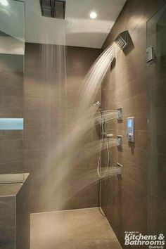 Wetroom from heaven multi sprays rainfall ceiling shower head   Handheld shower heads side sprays great to bathe with your lover and for lots of hot shower sex
