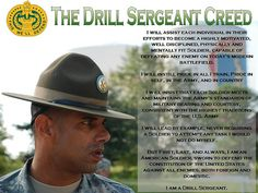 Drill Sergeant Creed