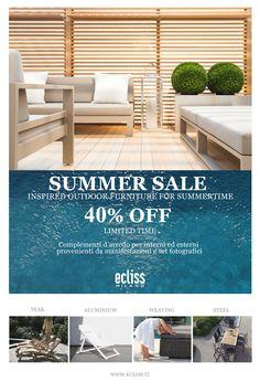 Summer Sales 40% off da ECLISS MILANO