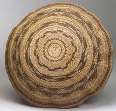 Northern California Twined Harvest Basket | ca. late 19th century