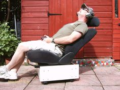 Car Seat Recliner #furniture #unique #upcycle #reuse #chair #seating
