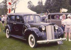 1938 Packard Twelve limousine
