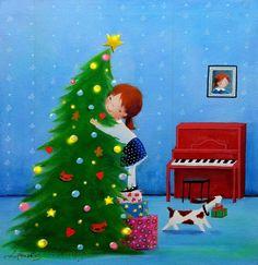 """Love Christmas"" by © Iwona Lifsches, 2014"
