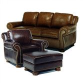 Found it at Wayfair - Hilton Leather Sofa and Chair Set