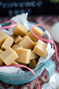 Louise´s Spis: Creamy Vanilla Fudge (Krämig Vaniljfudge)