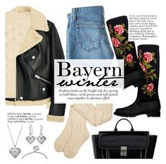 """""""Bayern winter"""" by punnky ❤ liked on Polyvore featuring 3.1 Phillip Lim, Marc Jacobs, AG Adriano Goldschmied and UGG"""