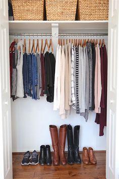 Winter 2017 Capsule Wardrobe - Closet