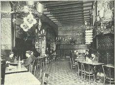 El Torino, conocido en su día como el palacio del vermut. Situado en el número 18 del Passeig de Gràcia, en la privilegiada esquina con la Gran Vía. Era una verdadera obra maestra del modernismo que, como otras, no tuvo una larga vida. Se inauguró el 20 de setiembre de 1902 y cerró sus puertas en 1911.