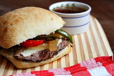 Slow Cooker French Dip Sandwiches   Recipe Girl