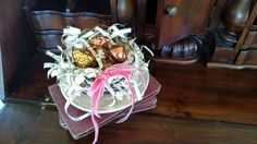 PAPER NEST WITH BABBLES, WIRE AND PAPER STRIP NEST,BOOK PAGE NEST, DIY PAPER NEST
