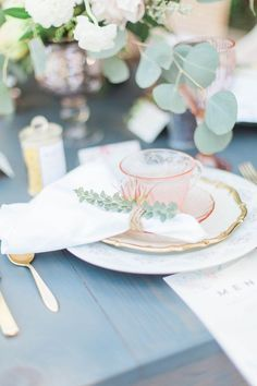 Garden Wedding Inspiration by Katie Jane Photography and Just Merried Events