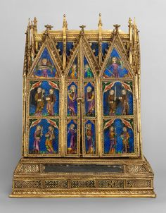 Reliquary Shrine   Attributed to Jean de Touyl   62.96   Work of ...