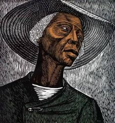 Photograph of Elizabeth Catlett by Fern Logan, via Wikipedia I just learned today that sculptor and printmaker Elizabeth Catlett passed ...
