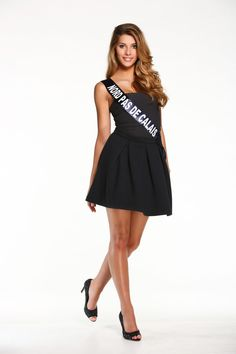 Camille Cerf - Miss France 2015 (replaced by Hinarere Taputu, her 1st RU)