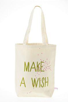 Tote Bag Make a Wish - sac - accessoires - la cerise sur le gâteau -