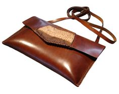 LEATHER HANDMADE BAG / Bag / Leather Bag / Leather by PACOSASTRE, $93.00