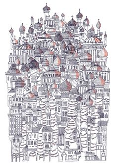 Invisible Cities by David Fleck, via Behance