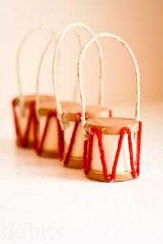 tidbits: Little Drummer Girl - Ornament