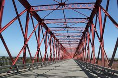 Bridge, Metal, Structure, Steel, Transportation