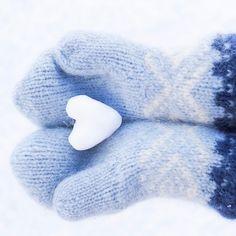   I 💙 Winter   Marius mittens   #winter #snow #mittens #mariusmittens #mariusvotter #knitting