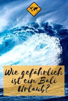 Ist ein Bali Urlaub gefährlich? Nach dem drohenden Vulkanausbruch den Gunung Agung häufen sich die Fragen, ob Bali gefährlich ist. Wir waren 3 Monate dort und haben Antworten für dich. #Bali #Reisesicherheit