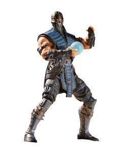 "Sub-Zero 4"" - Mortal Kombat X - Mezco"