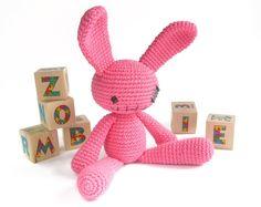 Amigurumi Zombie Bunny - FREE Crochet Pattern / Tutorial