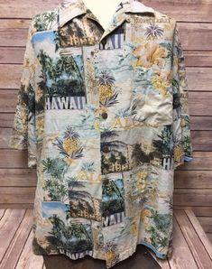 TOMMY BAHAMA MARTINI MASTER COTTON HAWAIIAN CAMP SHIRT XL 2XL 3XL NWT