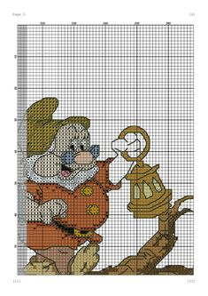 Disney Hama Beads Pattern, Disney Cross Stitch Patterns, Hama Beads Patterns, Cross Stitch Designs, Beading Patterns, Dimensions Cross Stitch, Christmas Cross, Cartoon Kids, Nursery Rhymes